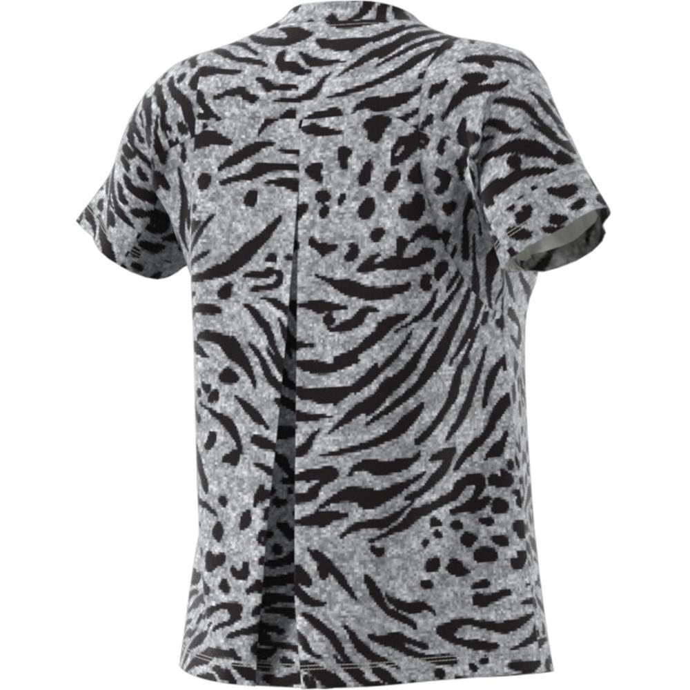 Camiseta Mujer Adidas Allover Print image number 8.0
