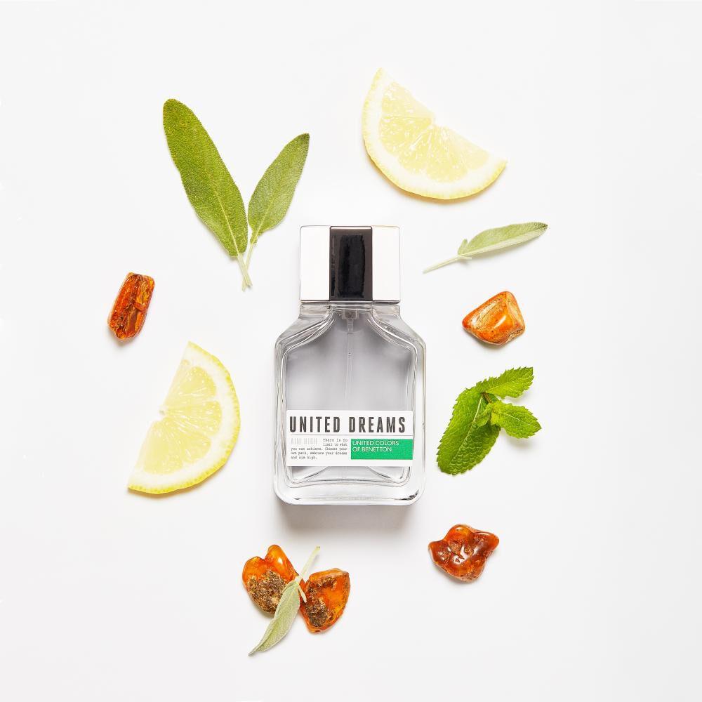 Perfume U.d. Aim High Benetton / 60 Ml / Eau De Toillete + After Shave 50ml image number 4.0