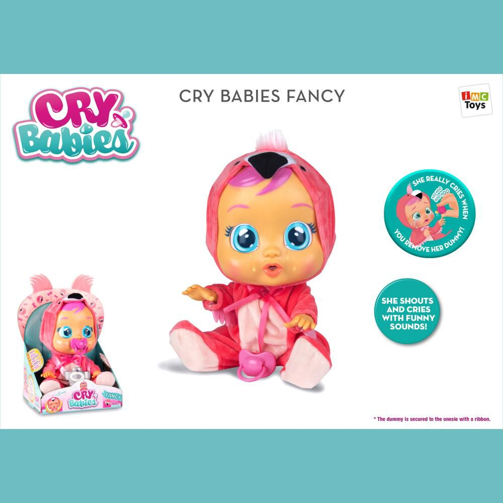 Muñeca Cry Babies Cry Babies Fancy image number 0.0