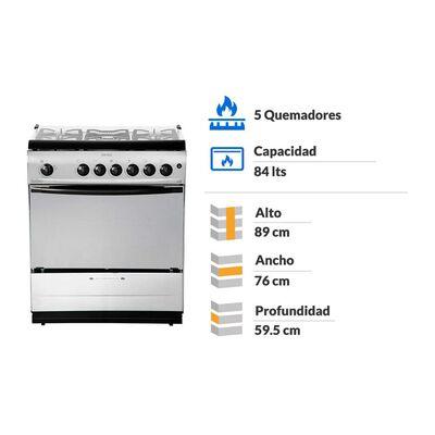 Cocina Fensa F-5500 / 5 Quemadores