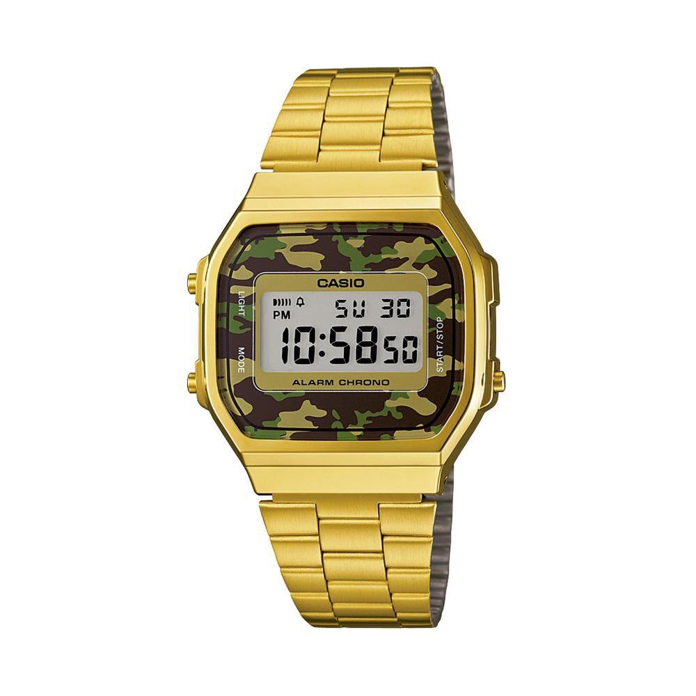 Reloj Casual Hombre Casio A168wegc-3df image number 0.0
