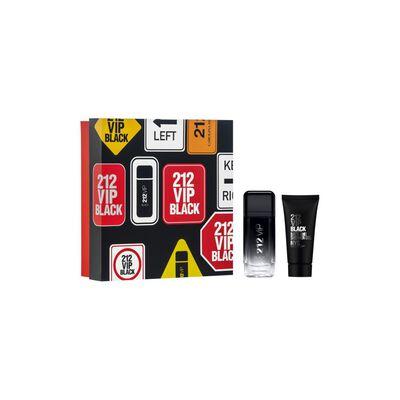 Perfume 212 Vip Men Black Carolina Herrera / 100 Ml / Eau De Parfum + Shower Gel