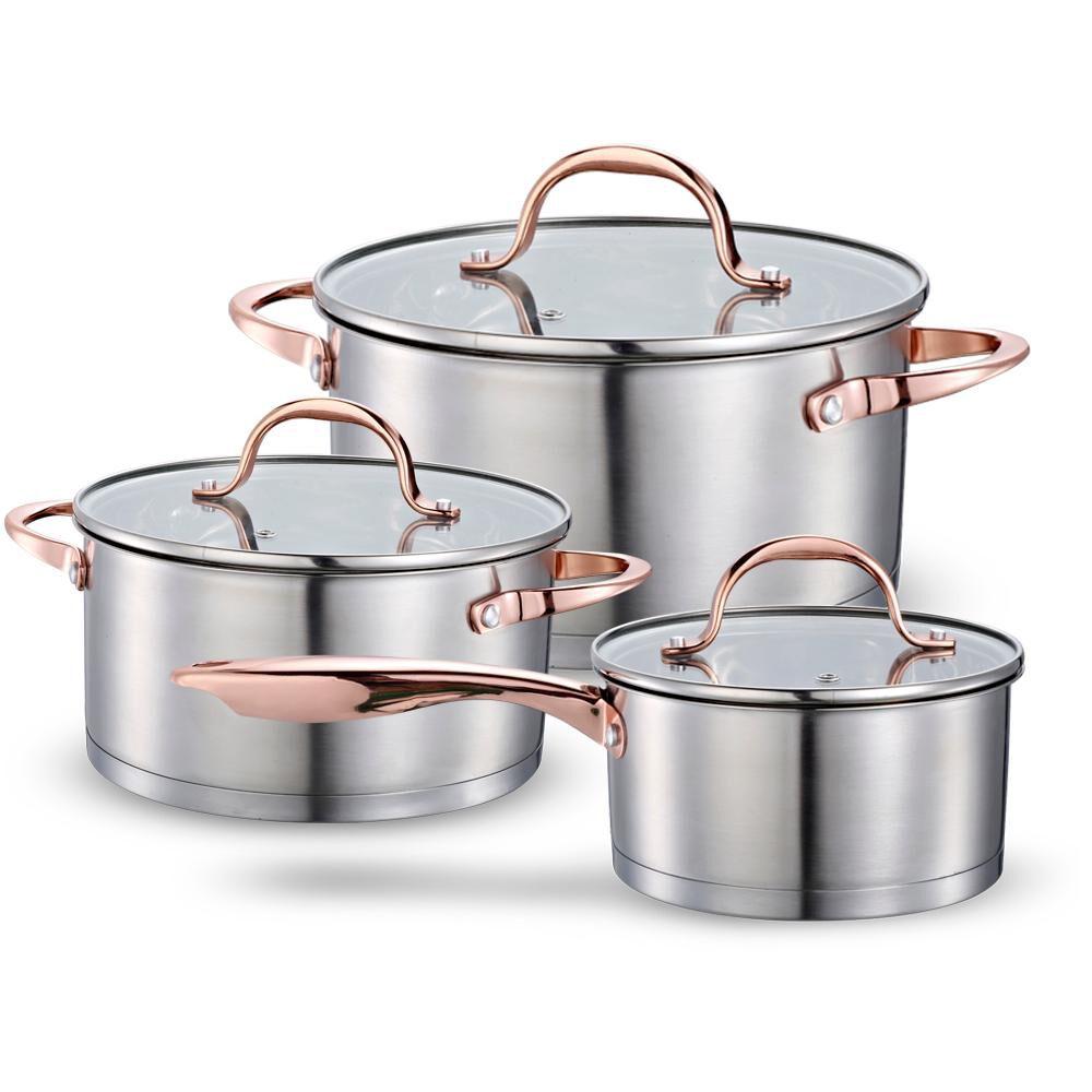 Bateria De Cocina Wens Copper / 6 Piezas image number 0.0