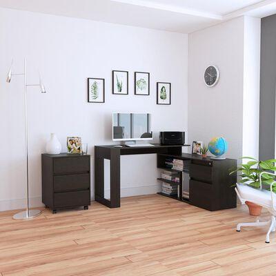 Combo Casaideal Office 11 / Cajonera + Escritorio