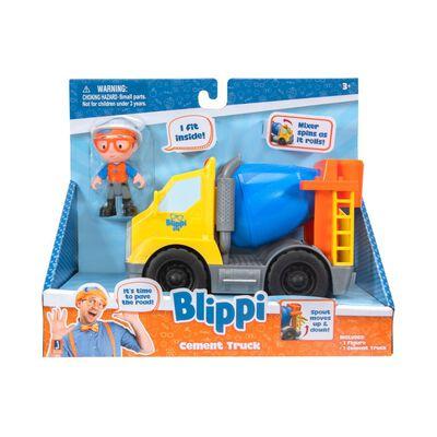 Auto De Juguete Blippi Camión De Cemento