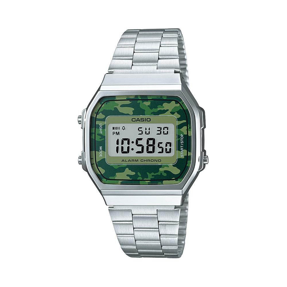 Reloj Casual Hombre Casio A168wec-3df image number 0.0