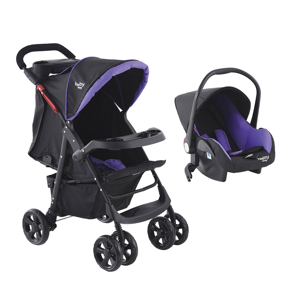 Coche Travel System Baby Way Bw-413M18 image number 0.0