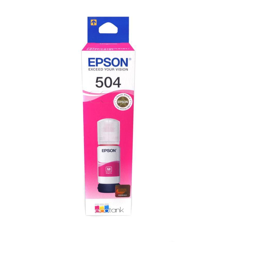 T504 Magenta Ink Bottle image number 1.0