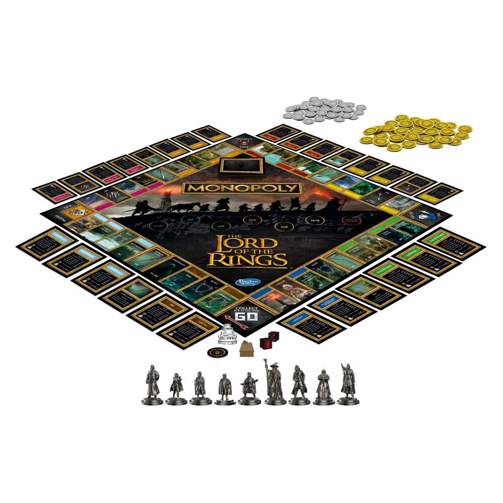 Juego De Mesa Monopoly The Lord Of The Rings image number 1.0