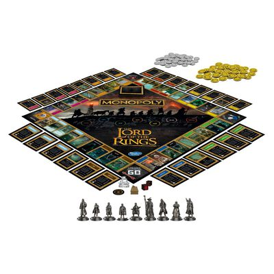 Juego De Mesa Monopoly The Lord Of The Rings