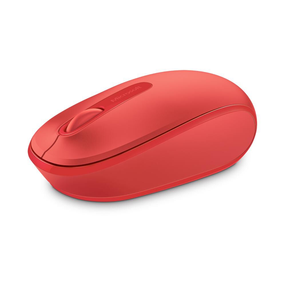Mouse Microsoft 1850 Flame Red image number 0.0