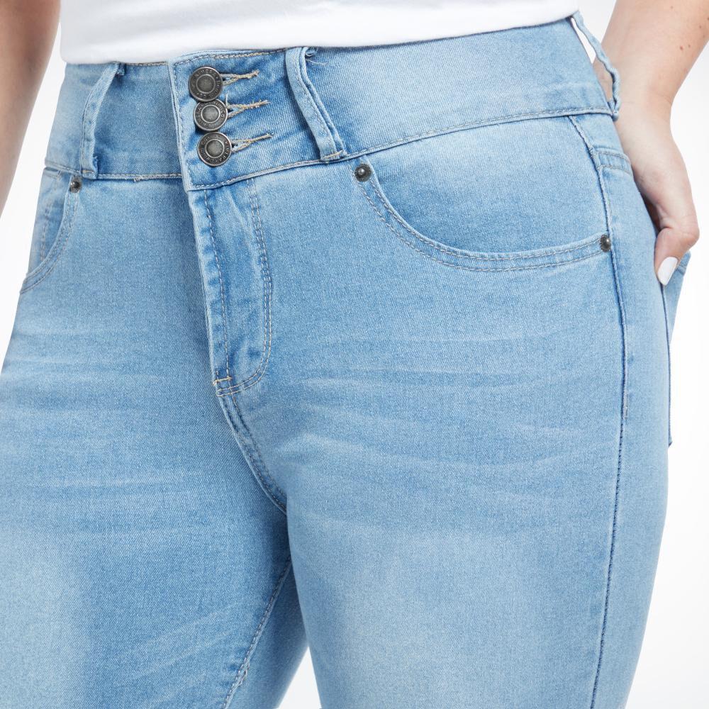 Jeans Mujer Tiro Alto Skinny Kimera image number 4.0