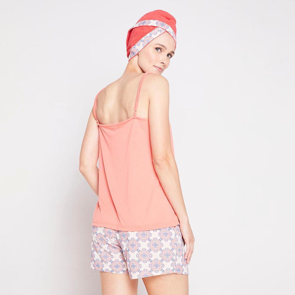 Pack Pijama + Toalla Pelo Mujer Geeps image number 2.0