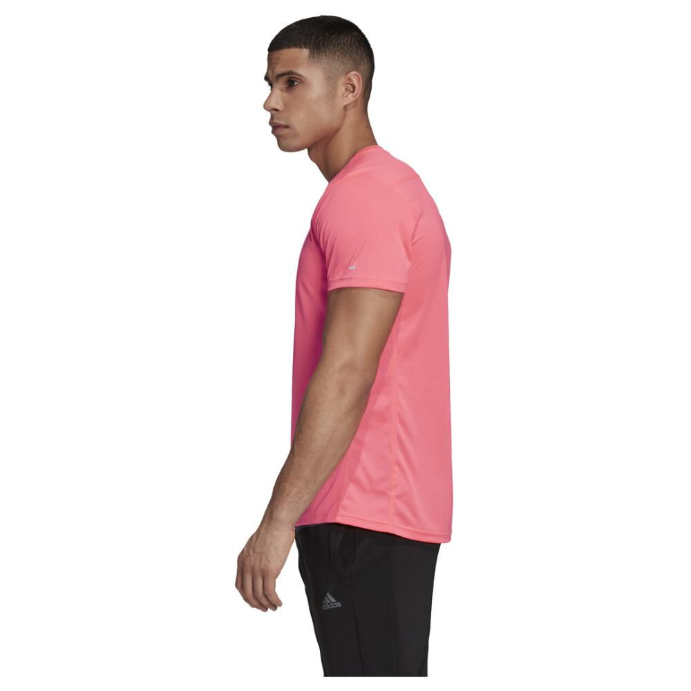 Polera Hombre Adidas Run It Pb 3 Bandas image number 4.0