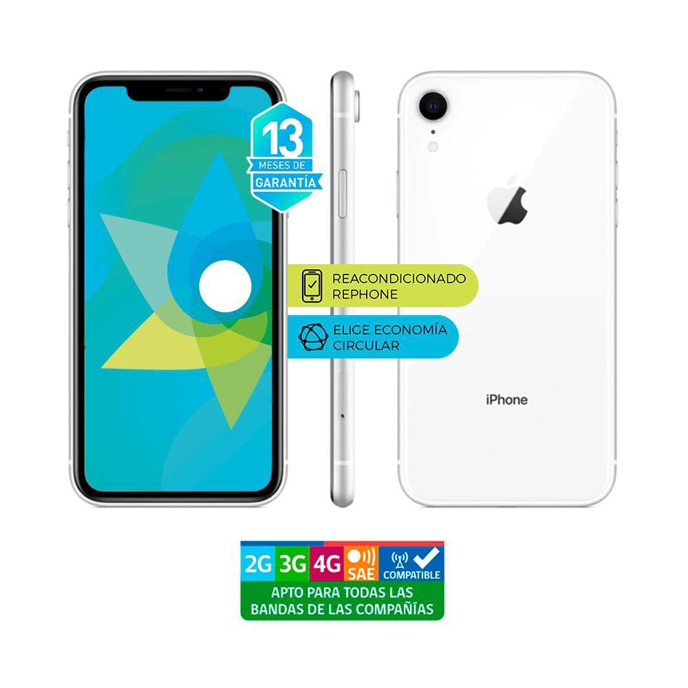 Smartphone Apple Iphone Xr Reacondicionado Blanco / 128 Gb / Liberado image number 3.0