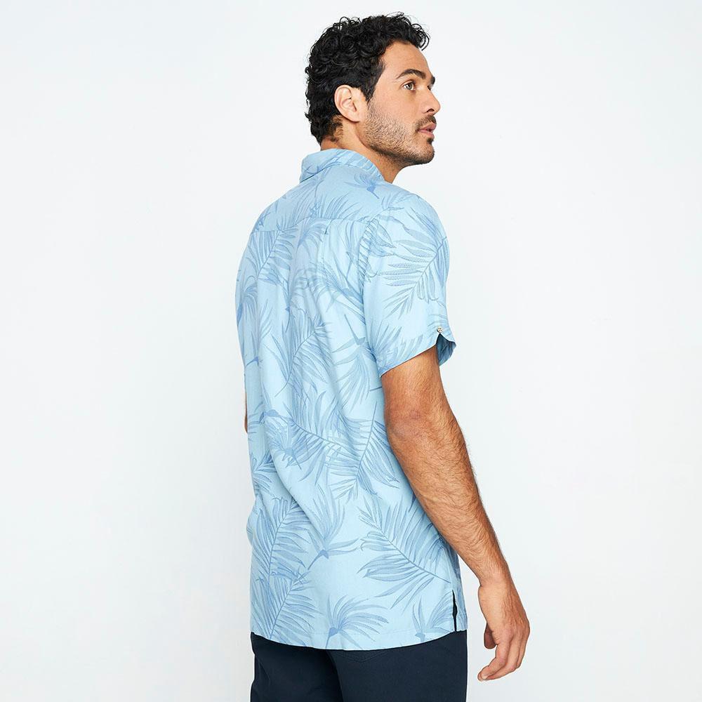 Camisa Manga Corta Hombre Herald image number 2.0