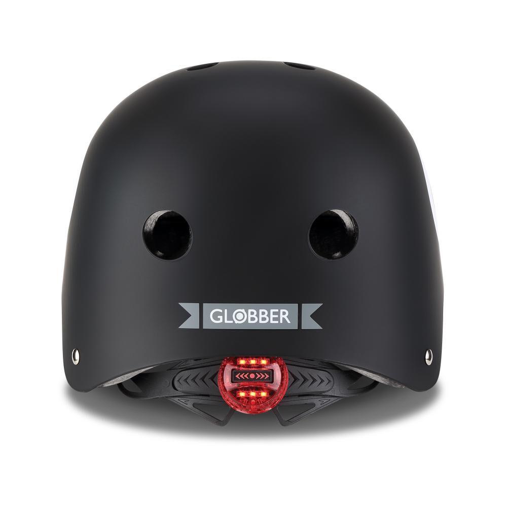 Casco Globber Helmet Elite Lights Black Xs/S image number 2.0