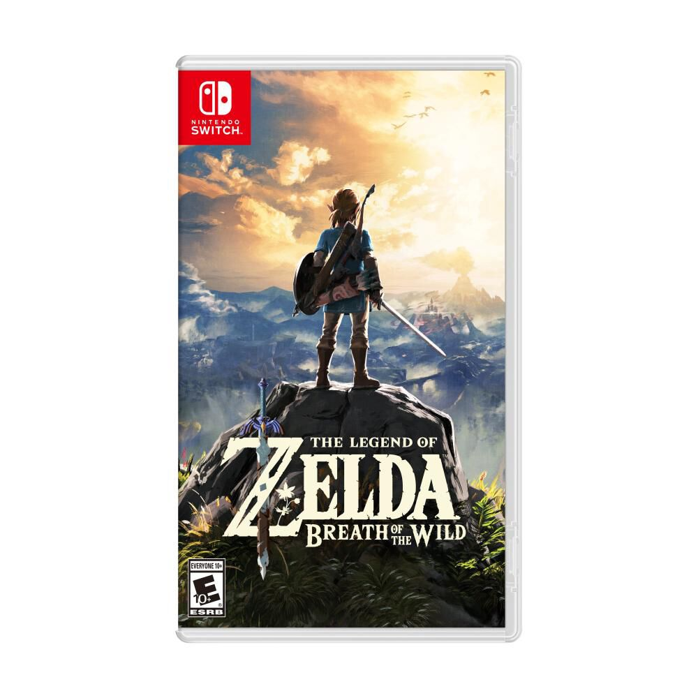 Videojuego Nintendo Switch Nintendo The Legend Of Zelda Breath Of The Wild image number 0.0