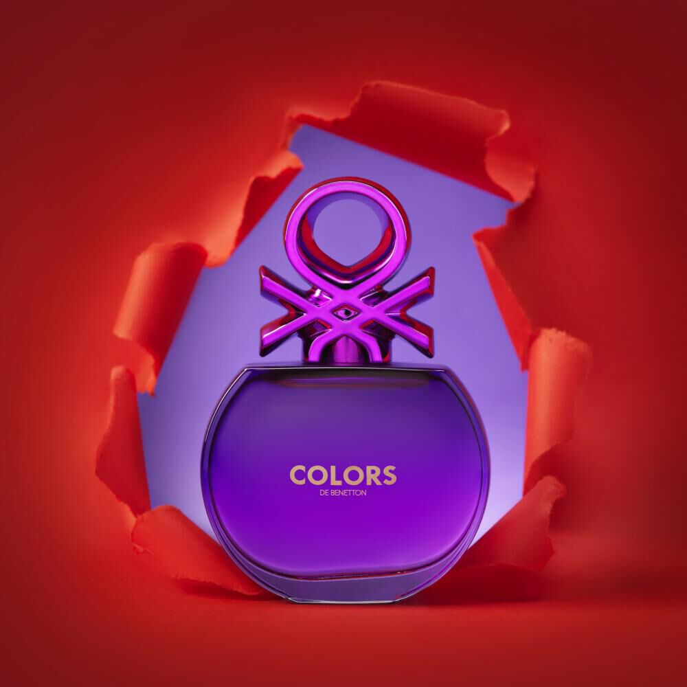 Perfume Colors Purple Woman Benetton / 50 Ml / Edt image number 5.0