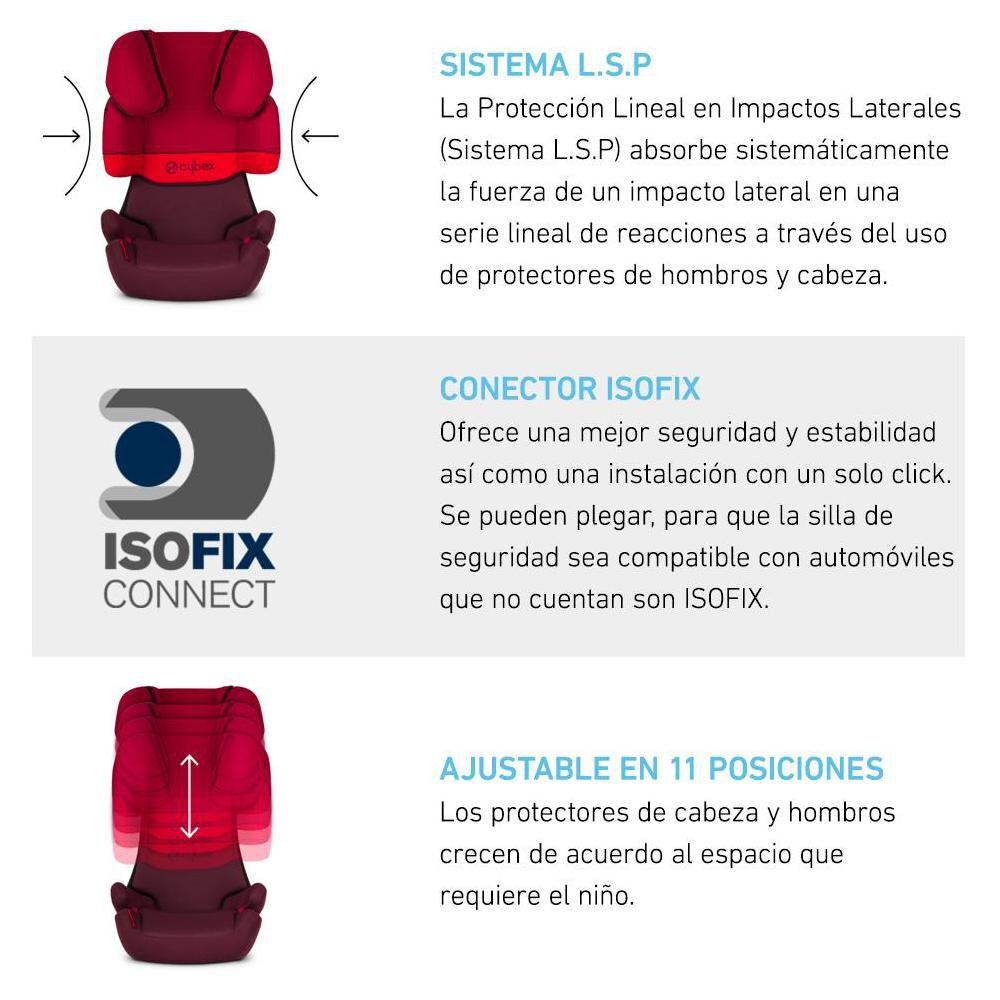 Silla De Auto Cybex Solution X-Fix image number 1.0