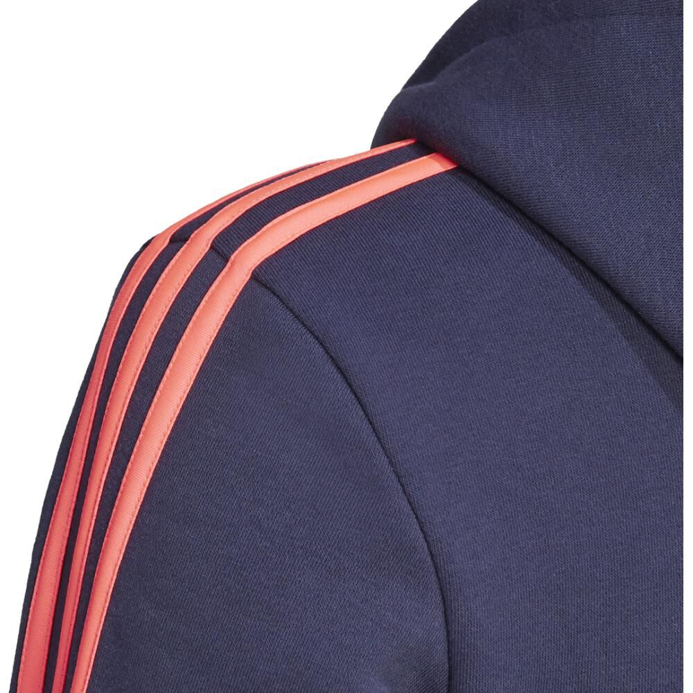 Poleron Deportivo Mujer Adidas Essentials Fleece 3s image number 7.0