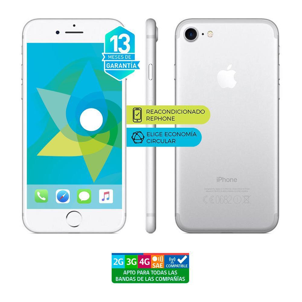 Smartphone Apple Iphone 7 Reacondicionado Plata / 128 Gb / Liberado image number 0.0