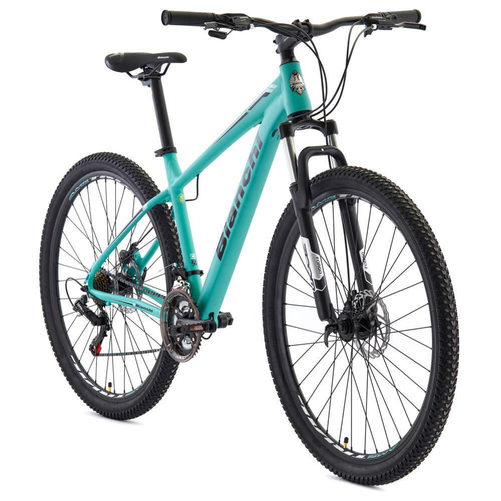 Bicicleta Mountain Bike Bianchi Stone Mountain 29 Sx Alloy Size L Negro Semi Matte / Celeste Bianchi / Aro 29 image number 1.0