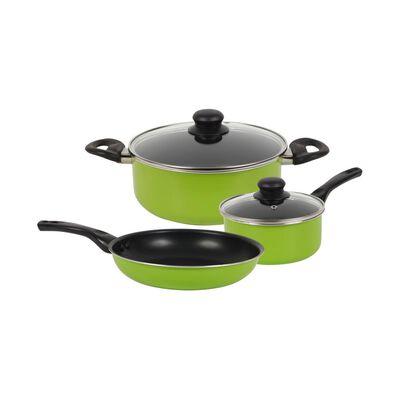 Bateria De Cocina Casaideal Verde / 5