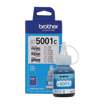 Botella De Tinta Brother Cian Bt5001C