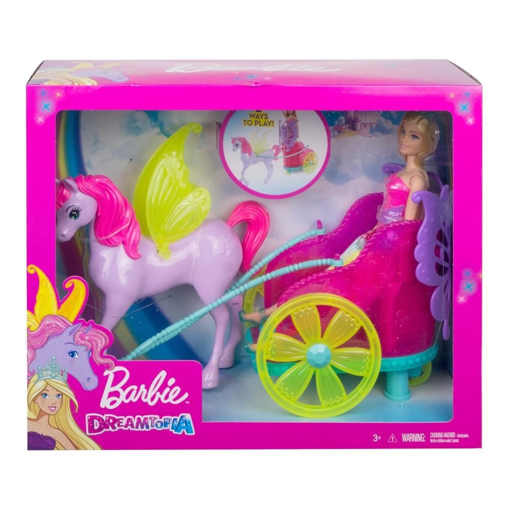 Muñeca Barbie Princesa Con Carruaje image number 2.0