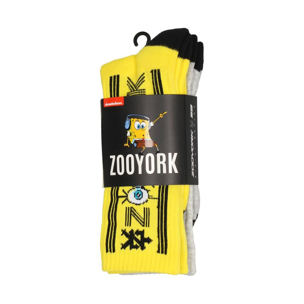 Pack Calcetines Unisex Zoo York / 2 Pares image number 0.0