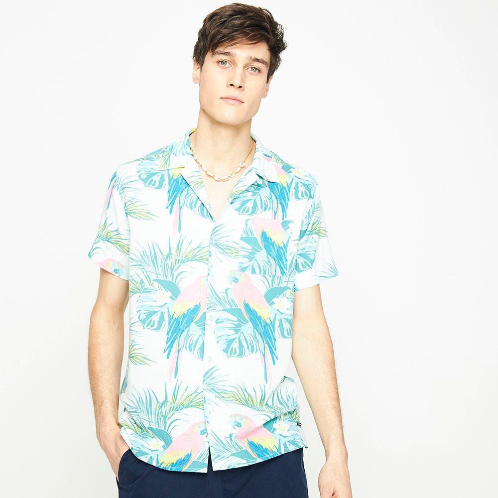 Camisa Manga Corta Hombre Ocean Pacific image number 0.0