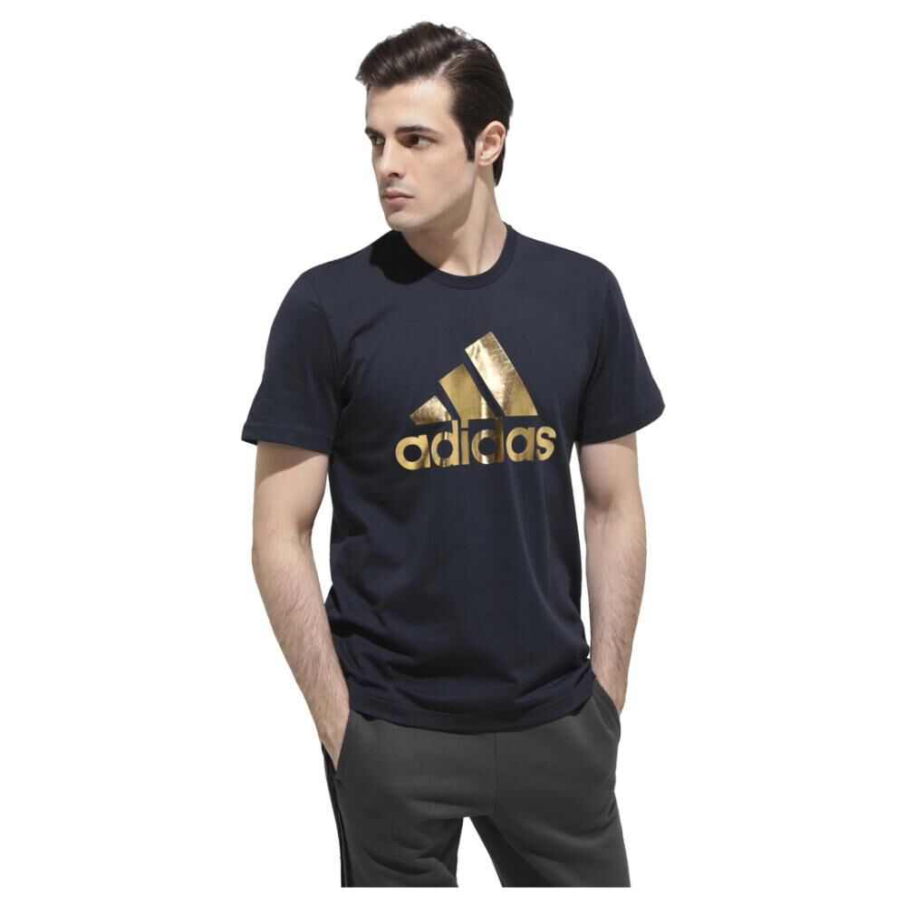 Camiseta 8-bit Graphic Foil Hombre Adidas image number 0.0