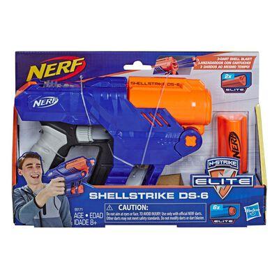 Lanzador De Dardos Nerf Elite Shellstrike Ds-6
