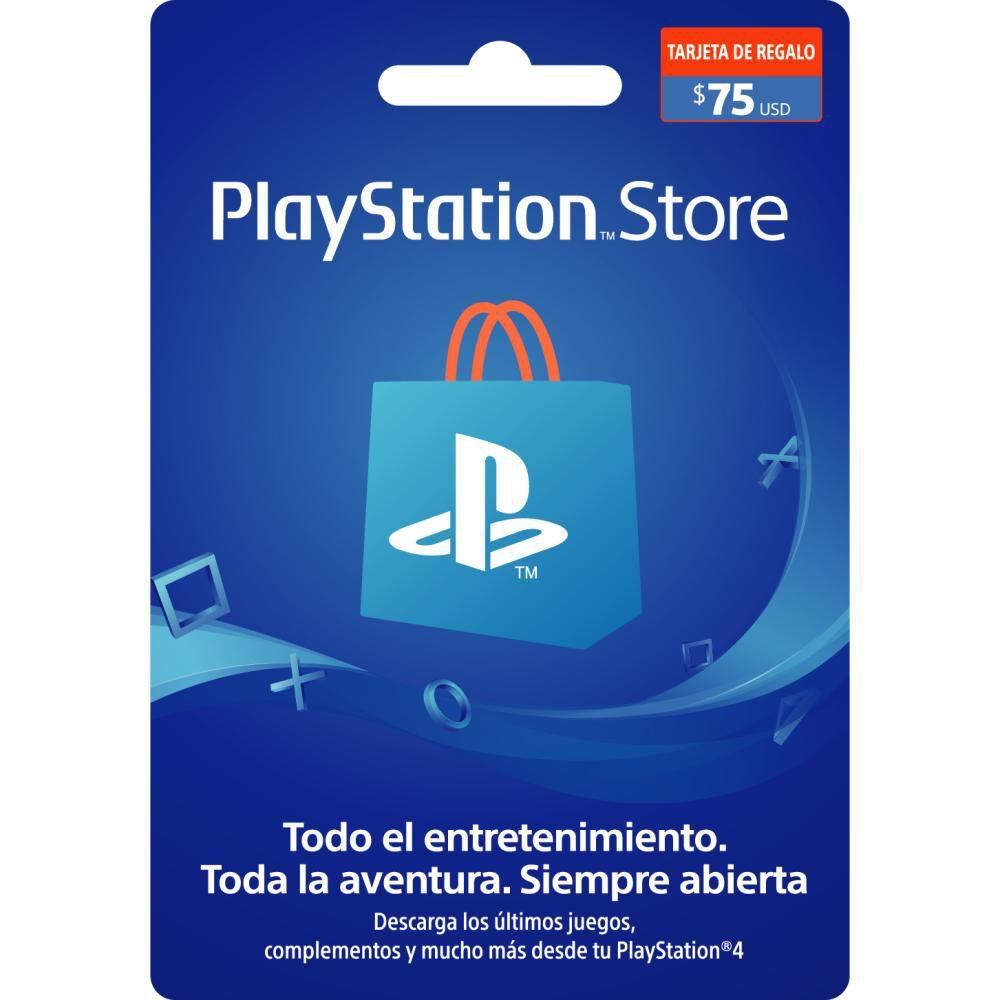 Tarjeta Prepago Us$75 Ps Store image number 0.0