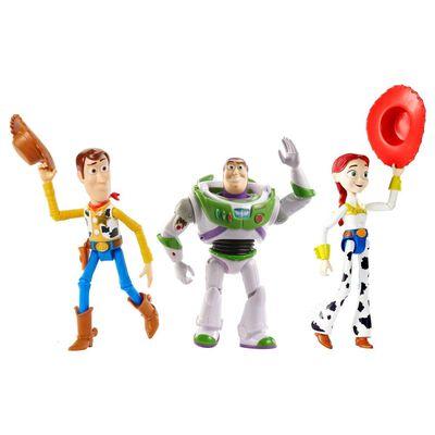 Set De Figuras Toy Story Buzz Lightyear, Woody Y Jessie Llegada Con Bonnie