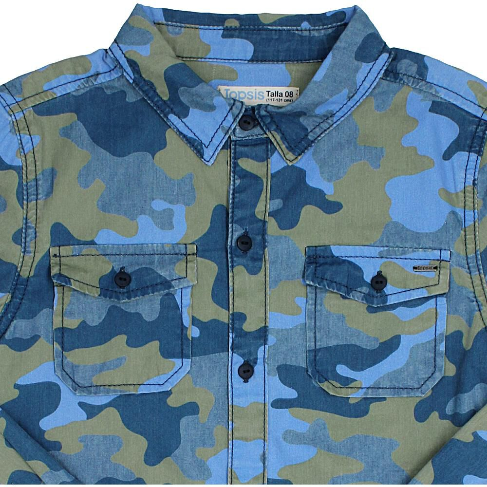 Camisa  Niño Topsis image number 2.0