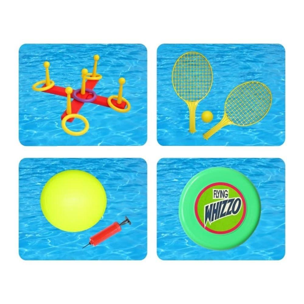 Juegos Acuaticos Vadell Juego 4 En 1 image number 1.0