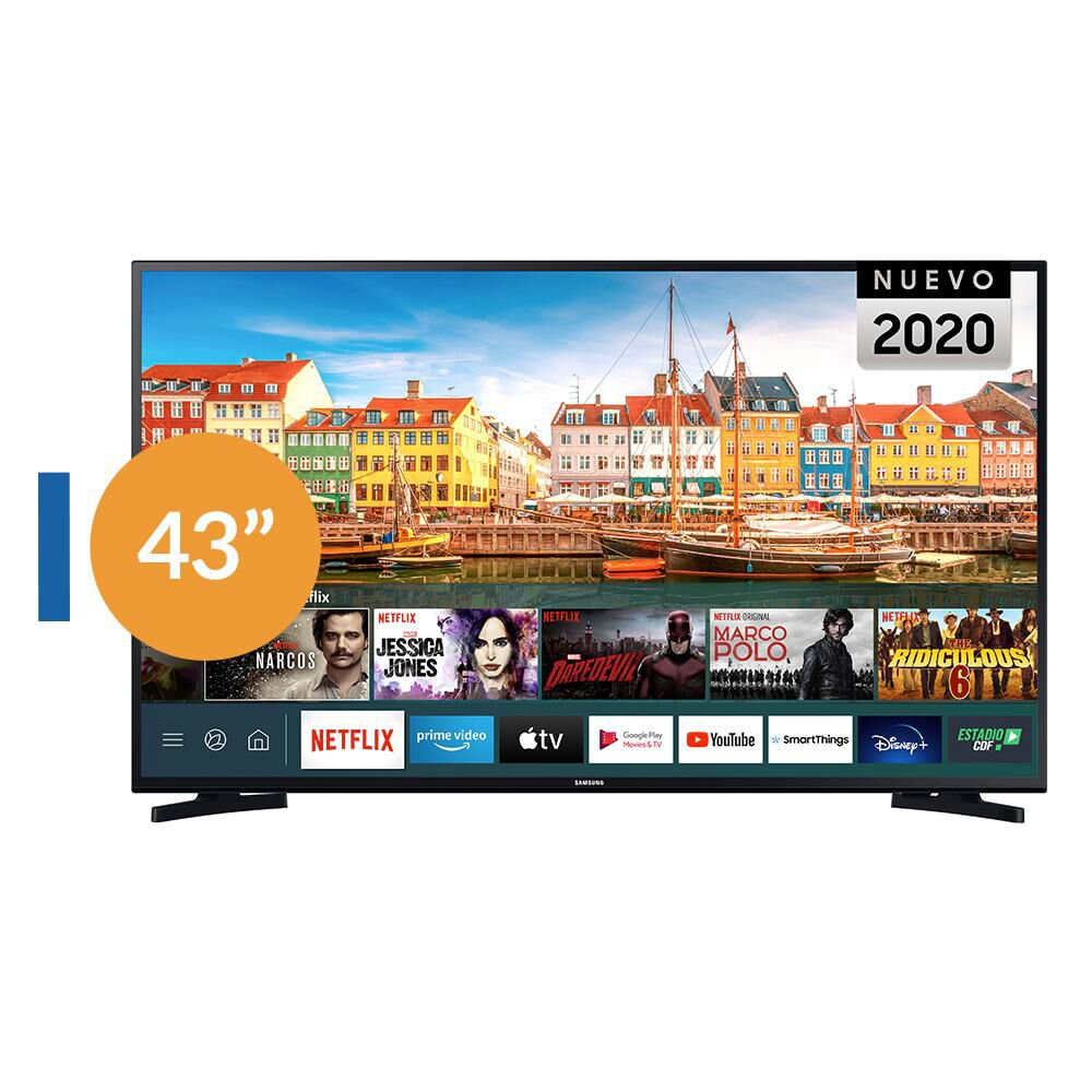 Led Samsung T5202 / 43'' / Full HD / Smart Tv image number 0.0