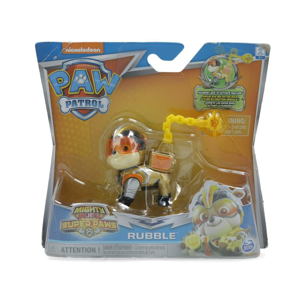 Figura De Accion Paw Patrol Heroes Mighty Rubble image number 0.0