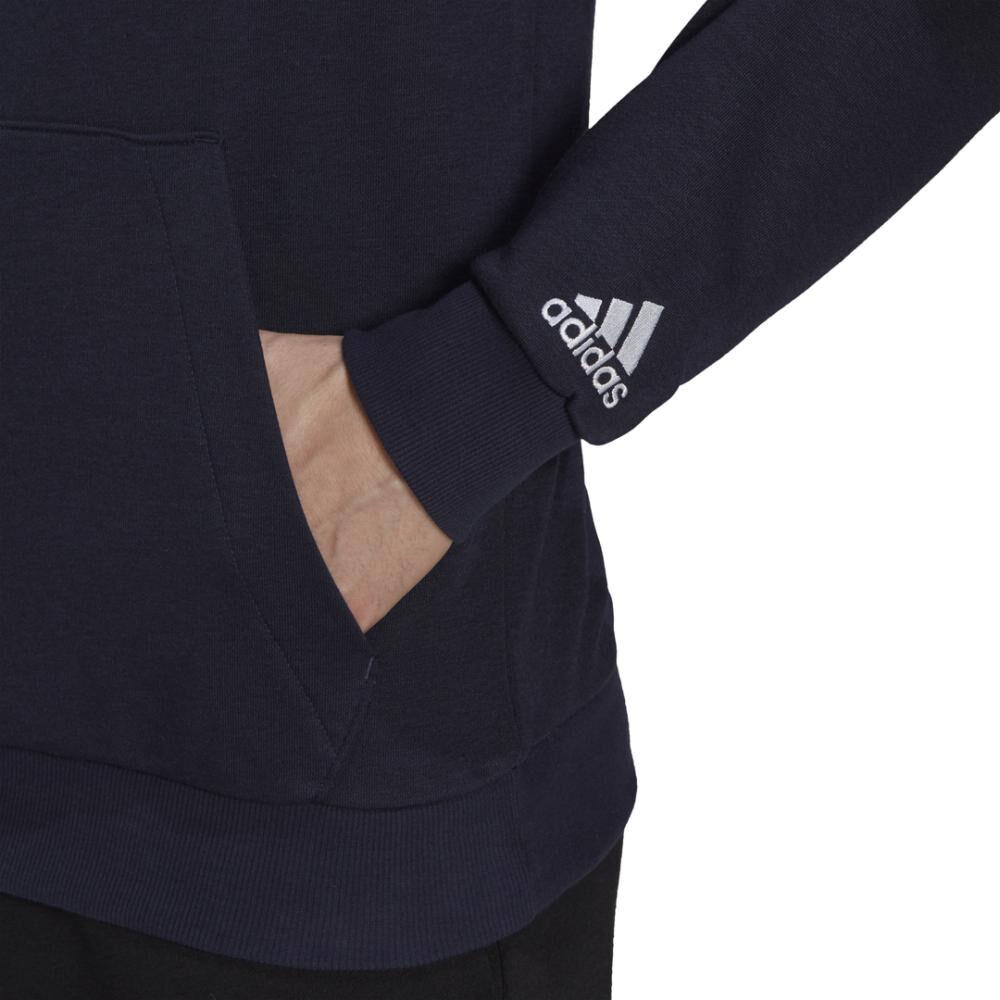 Polerón Deportivo Hombre Adidas Essentials Hoodie image number 3.0
