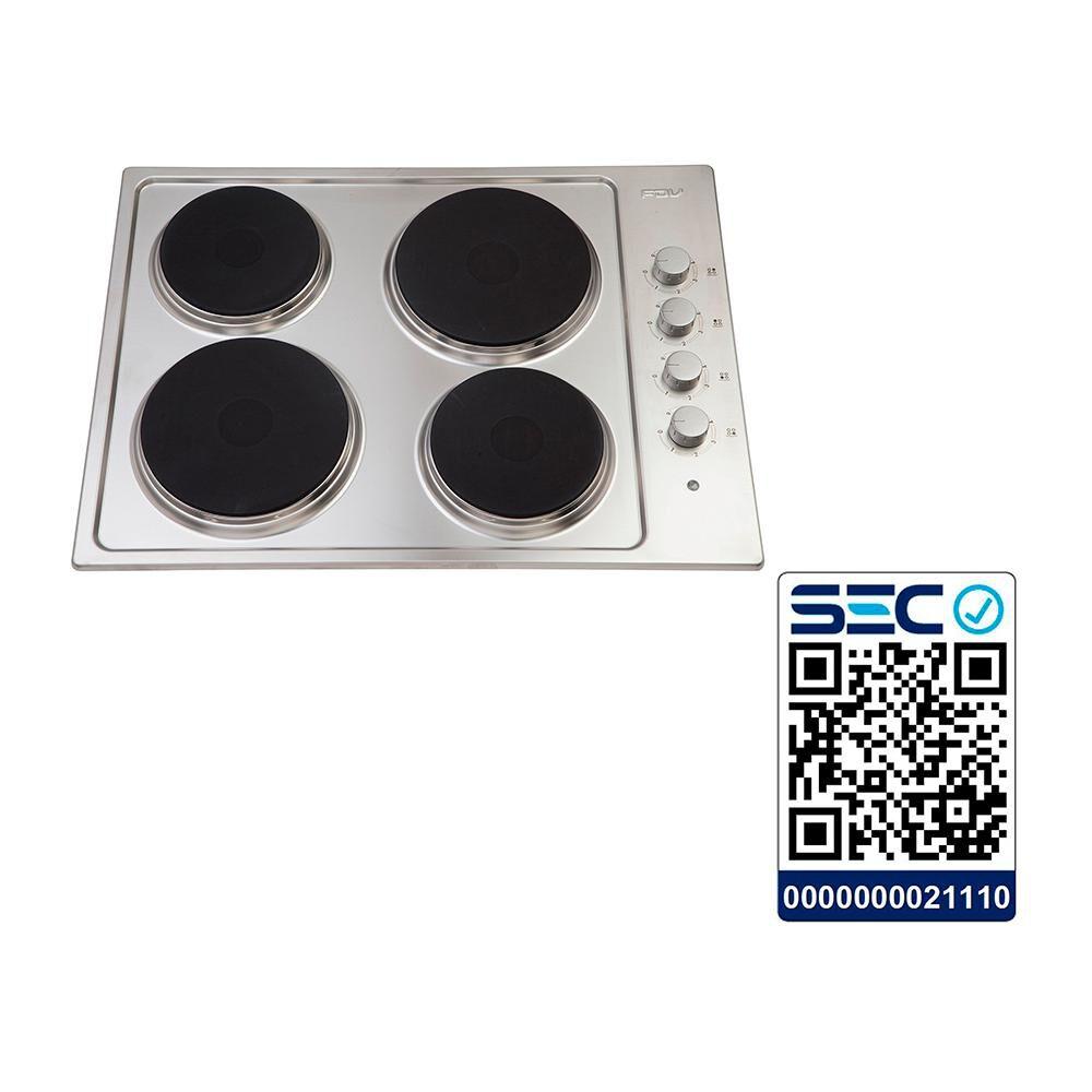 Encimera Eléctrica Convencional Fdv New 4p 50 / 4 Focos image number 4.0