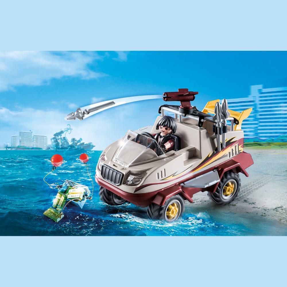 Figura De Acción Playmobil Coche Anfibio image number 1.0