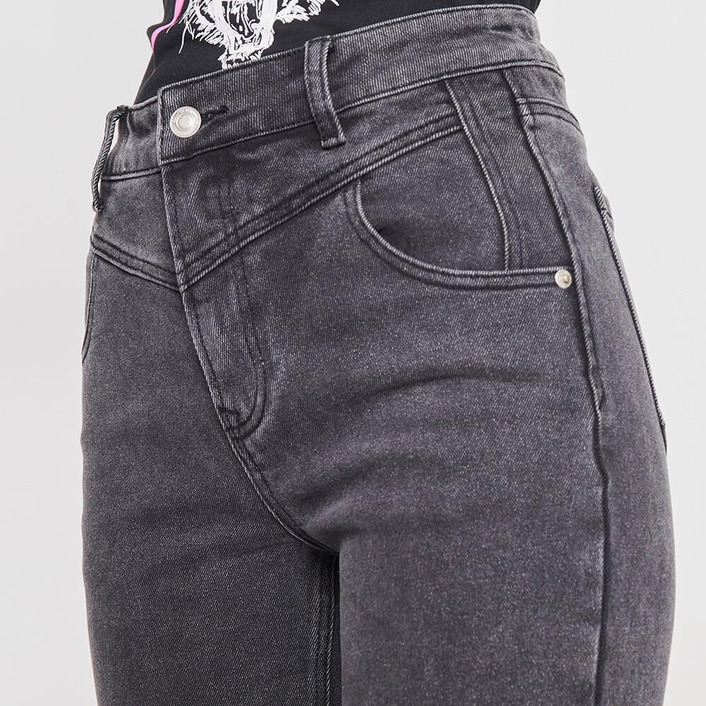 Jeans Mujer Tiro Alto Super Skinny Rolly Go image number 3.0