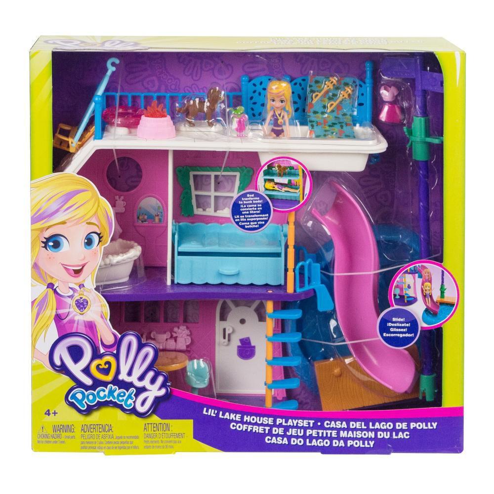 Muñeca Polly Pocket Casa Del Lago image number 2.0