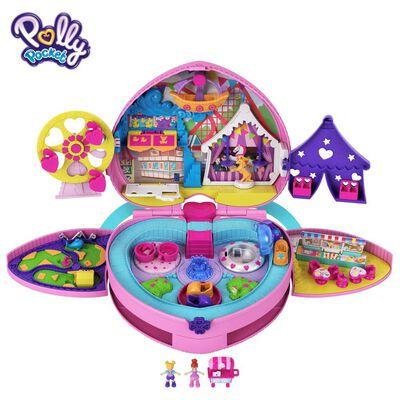 Polly Pocket Micro Set De Juego Mochila De Aventuras De Polly