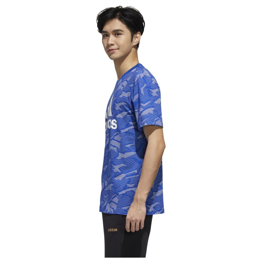 Polera Hombre Adidas Essentials Allover Print image number 1.0