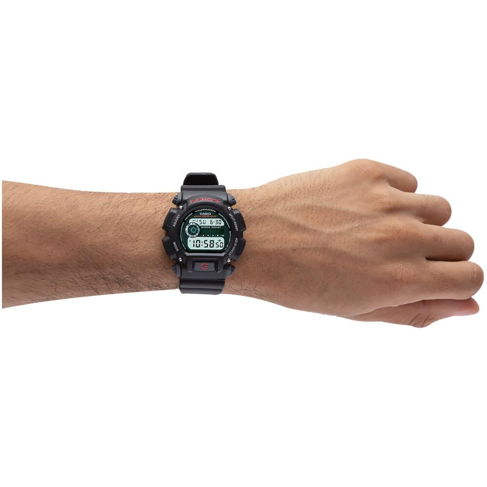 Reloj Deportivo Hombre Casio G Shock Dw-9052-1vdr image number 2.0