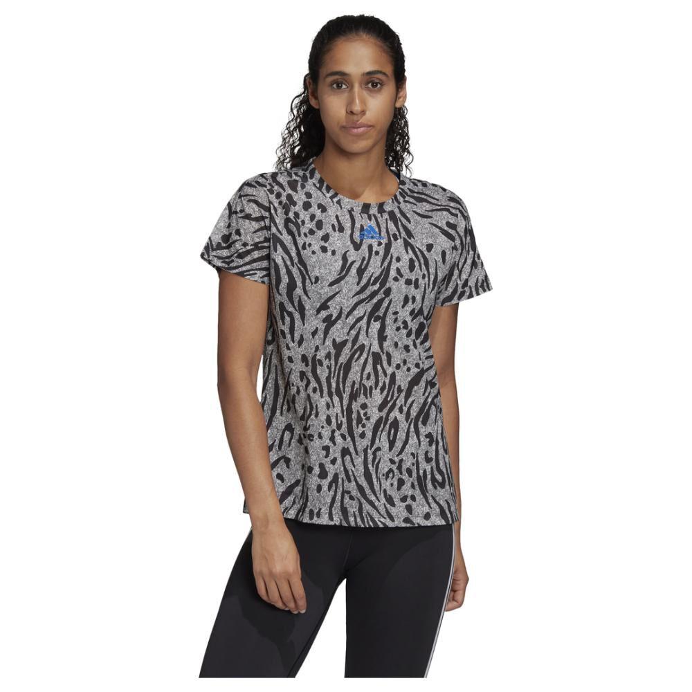 Camiseta Mujer Adidas Allover Print image number 0.0