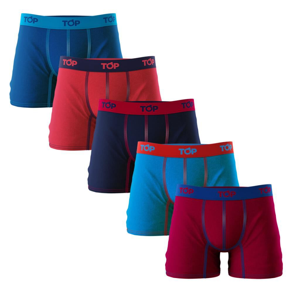 Pack Boxer Hombre Top / 5 Unidades image number 0.0